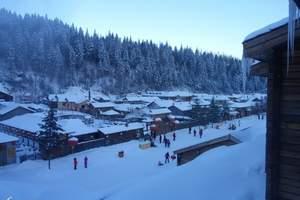 冬季哈尔滨-亚布力、中国雪乡6日游 全程一车一导 特色线路