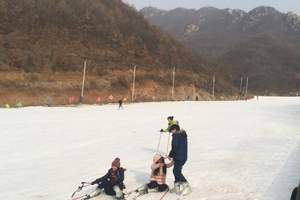 武汉到河南皇姑浴温泉猿人山滑雪2日游_滑雪不限时_豪华温泉酒