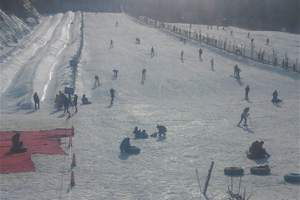 """长春【长白山西】"""" 激情滑雪 """" 长白山西坡滑雪温泉2 日游"""