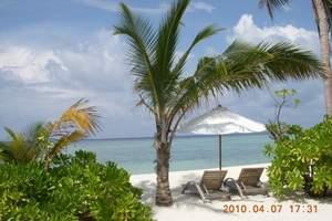 银川出发到马尔代夫双鱼岛4晚6日游