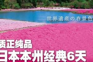 北京出发去日本旅游攻略-质正纯品日本本州经典六日游