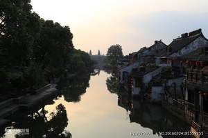 乌镇西栅、西塘+普陀山+杭州双动5日游|福州到杭州旅游推荐t