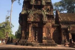 厦航包机柬埔寨金色吴哥深度双直飞五日游|柬埔寨吴哥窟深度游