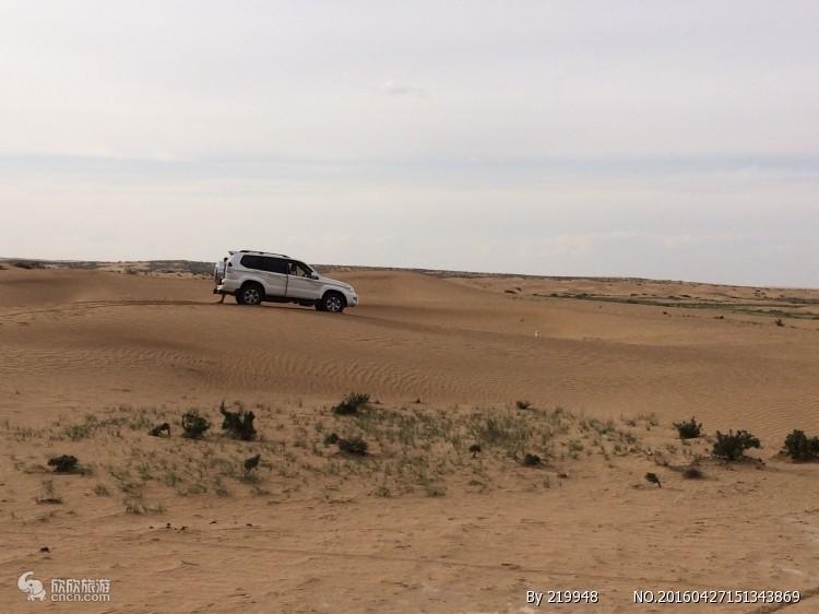腾格里沙漠无人区越野车穿越 徒步 露营经典路线3天2夜