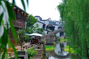 4月宁波出发到乌镇、西塘、南浔四星二日  古镇游