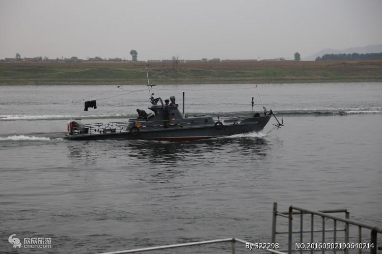 【十一推荐】丹东中朝边境半日游风情旅游到朝鲜内河赏异国风光
