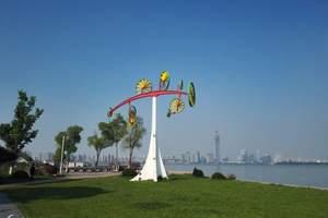 上海出发品阳澄湖大闸蟹游湖滨生态体育公园金鸡湖李公堤一日游
