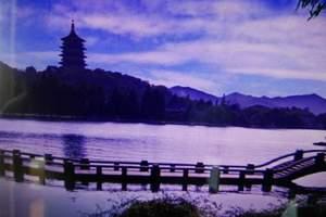 上海出发杭州一日游,西湖游船,西溪湿地一日游