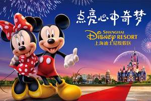 淄博到上海迪士尼报价 上海迪士尼旅游团3日游报价