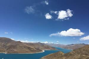 拉萨羊湖纯玩一日游 拉萨到岗巴拉山+唐卡村+羊卓雍错包车旅游