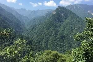 陕西-秦岭-红河谷森林公园 1日游