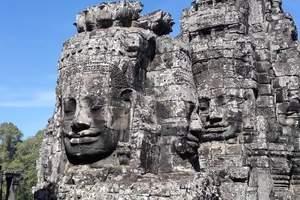 三亚直飞柬埔寨吴哥窟、金边大皇宫高端六日游、柬埔寨旅游报价