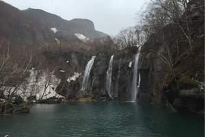 天津到吉林、长白山天池、镜泊湖、红旗村关东文化园特价双卧五日