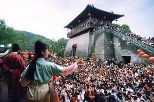 暑期宁波到冰雪泡沫节杭州太子湾、宋城千古情一日游 杭州旅游