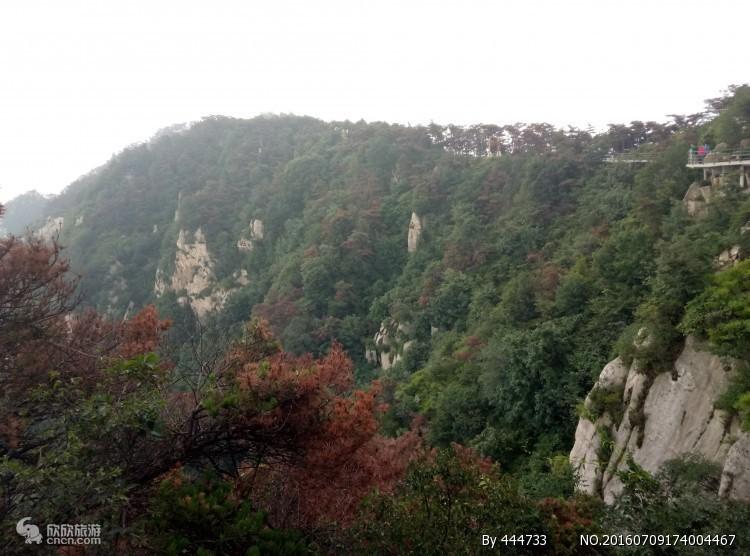 银座天蒙山景区
