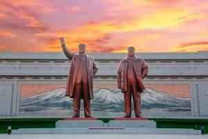 北京直飞朝鲜平壤|开城|妙香山|海豚馆5日游