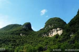 广州周边玻璃桥线路介绍|英西峰林走廊、洞天仙境纯玩一天游