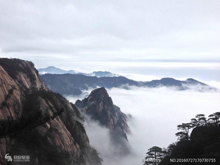 黄山高铁三日游(南昌往返)