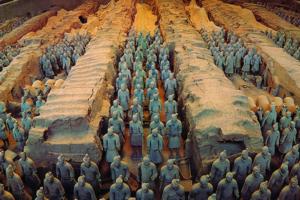 南宁去西安旅游景点_西安兵马俑、华清池、华山双卧特价7日游