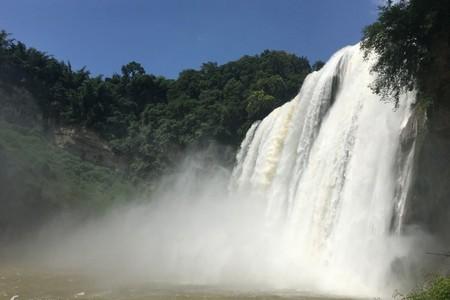 纯玩-黄果树瀑布 天星桥 陡坡塘1日游 贵州租车 贵州旅游