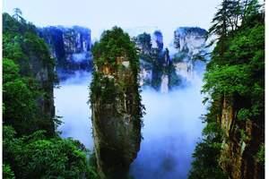 深圳到湖南张家界 大峡谷玻璃桥 公司包团张家界高铁四日纯玩团
