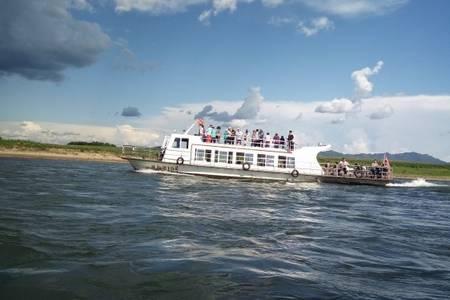 【暑期特价】丹东中朝边境一日_游朝鲜清水工业园河口游船一日游