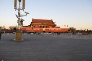 石家庄出发北京高端汽车三日游