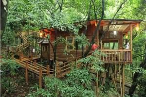 深圳去英德九州驿站树上温泉、英西峰林观光、彭家古堡、竹筏两日