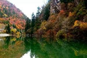 11月成都去卡龙沟奶子沟休闲纯玩彩林两天 奶子沟红叶特色看点