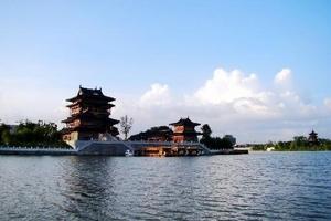 盐城泰州温泉二日游 大纵湖+杨侍温泉+凤城河+梅园+望海楼