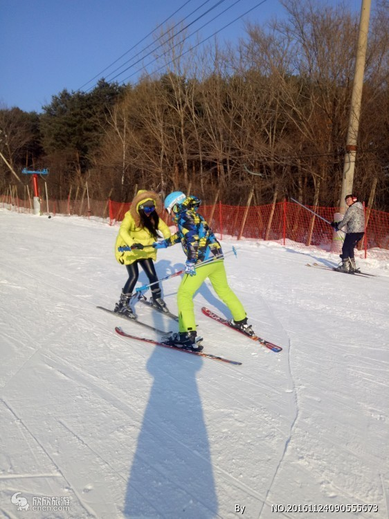红松王滑雪场滑雪票