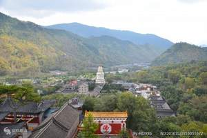 山西五台山二日游-太原到五台山旅游线路-纯玩含餐-全程高速