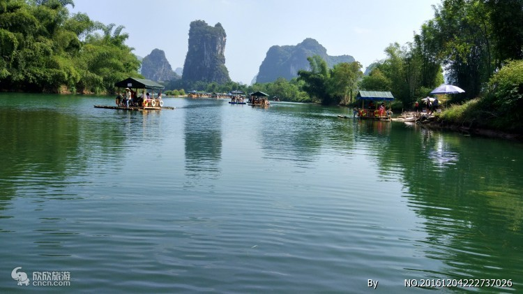 桂林风景 视觉中国
