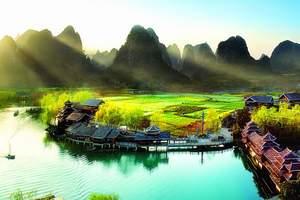 南宁周边5日游_德天瀑布、通灵峡谷、桂林漓江、阳朔5日游