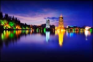 尊贵古东、桂林、兴坪漓江、阳朔动车三日游