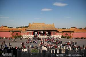 【北京外賓純玩一日游】天安門廣場(故宮深度游4小時)頤和園