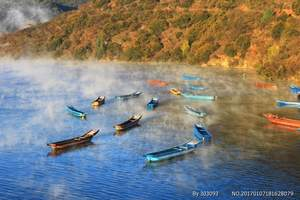 丽江到泸沽湖景区旅游专线车往返程车票(正规车辆、一站直达)