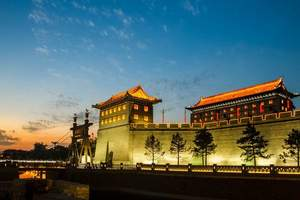 郑州到西安旅游-郑州到西安明城墙,兵马俑,华清池单卧三日游