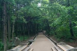 郑州至白云山(住山上准三宾馆)2日游,天天发团,避暑好地方