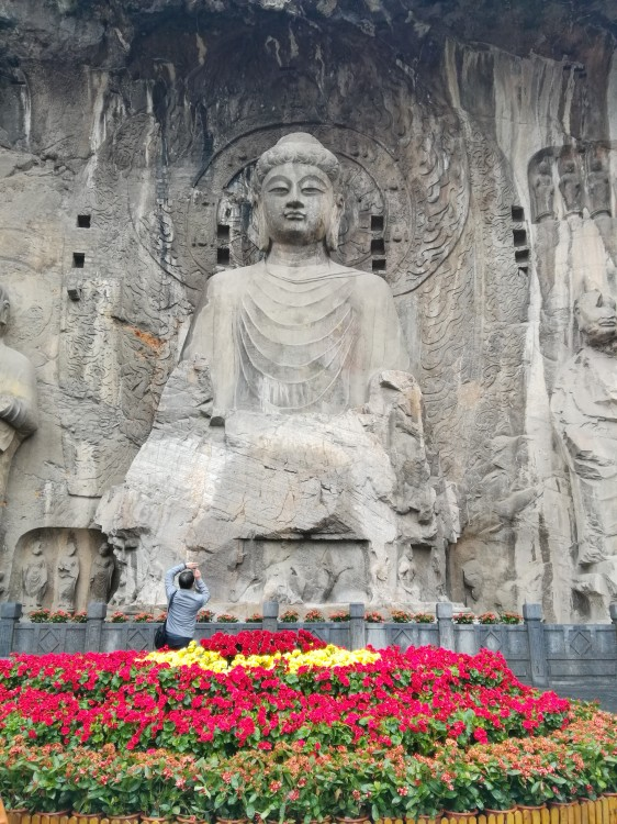 龙门石窟+少林寺1日游(市区酒店上门接送、纯玩)