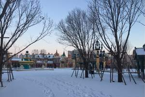 南昌到哈尔滨、亚布力滑雪 、冰雪大世界6日【纯玩】