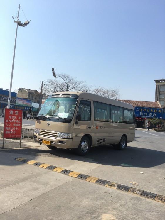 镇江租车去机场多少钱_18座丰田旅游车