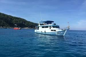 海景斯米兰群岛6晚7天情人度假人妖表演