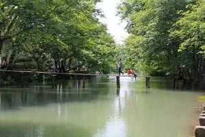 杭州西溪湿地精品纯玩一日游 西湖乌镇西栅京杭大运河宋城半1日