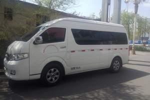 新疆旅游包车-17座江陵考斯特
