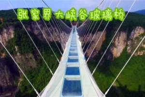 洛阳去张家界大峡谷玻璃桥旅游团哪家好_芙蓉镇、凤凰双卧5日游