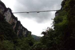 张家界玻璃桥+大峡谷一日游(含门票+交通+导游+中餐)