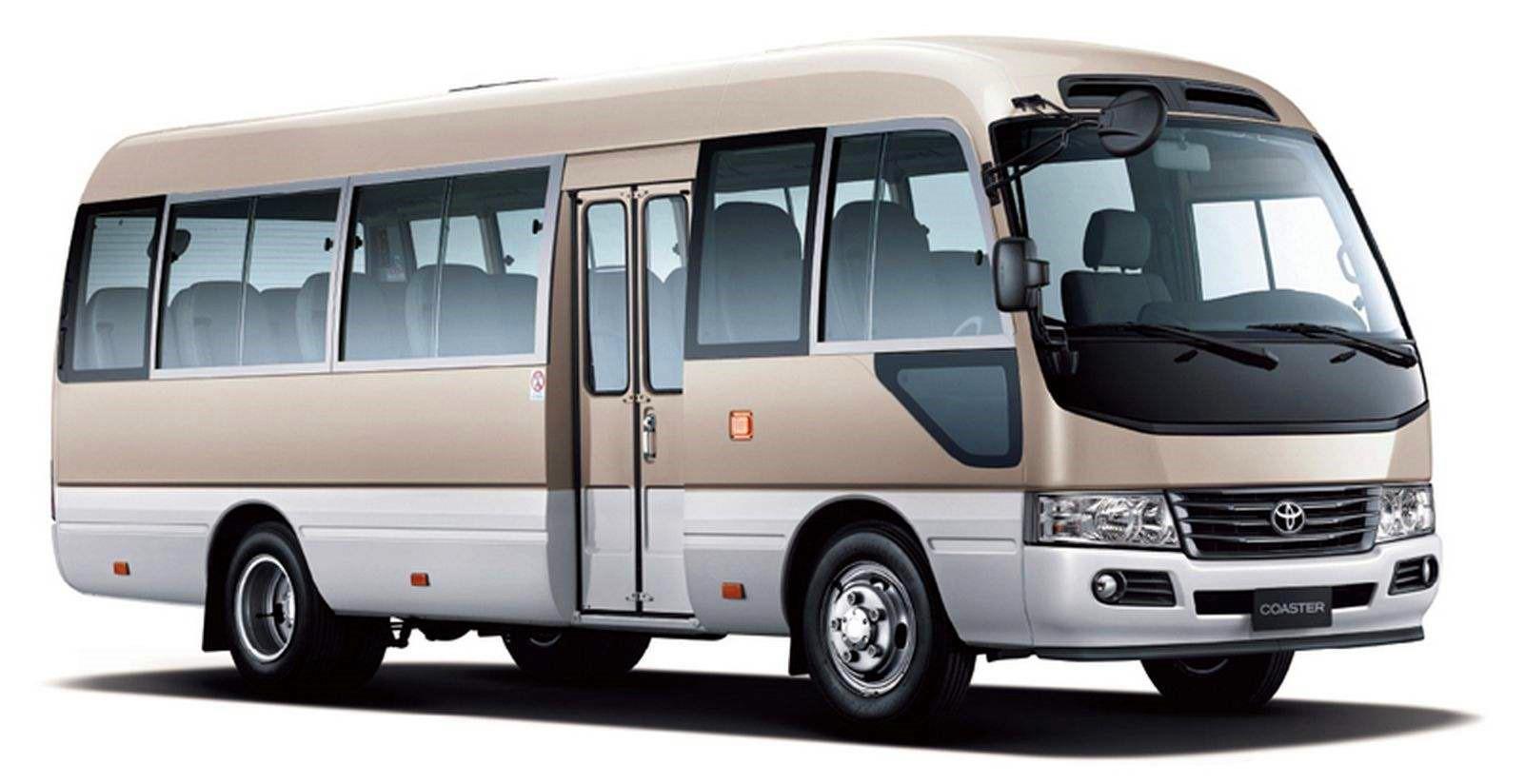 淄博27座丰田考斯特旅游车出租,价格优惠,商务会议
