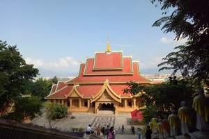 西双版纳旅游纯玩 勐泐大佛寺+万达乐园一日游 含接送周边游
