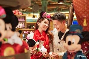 【免费班车到景区】上海迪士尼2日自选套票+1晚上海迪士尼酒店